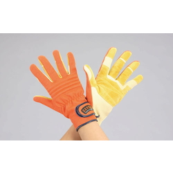 Rescue Leather Gloves EA353BK-66