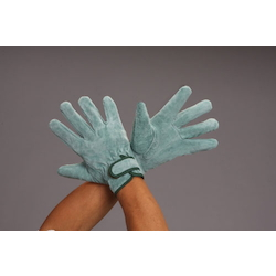 [Oil Processing]Leather Gloves (Cowhide) EA353C-66