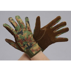 [Camouflage] Cowhide Gloves EA353J-93