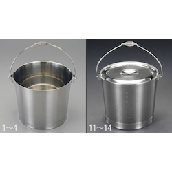 [Stainless Steel] Bucket EA508S-14