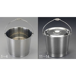 [Stainless Steel] Bucket EA508S-2