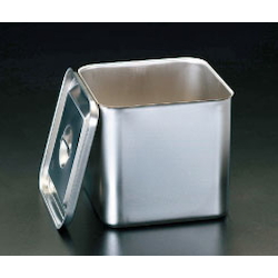 [Stainless Steel] Deep Box (With Lid) EA508SC-16
