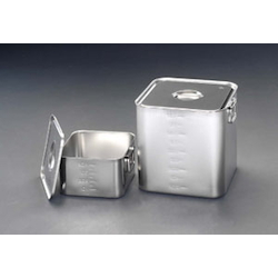 [Stainless Steel] Deep Box (With Lid) EA508SC-63