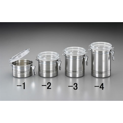 Stainless Steel Sealing Storage Container with Acrylic Lid EA508SR-1
