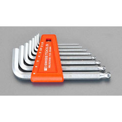Hexagonal Key Wrench [With Ball Point] Set 7 Pcs EA573CD-70