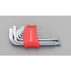 Hexagonal Key Wrench [With Ball Point] Set 9 Pcs EA573CD-91