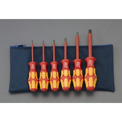 [6 Pcs] Hex Insulated Screwdriver set EA573SP