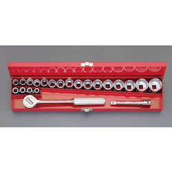 "(1/2"") Socket Wrench Set [Metric] EA617AD-10"
