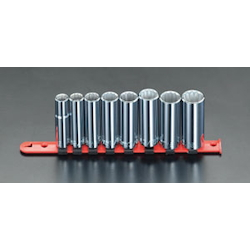 "(1/2"") Deep Socket Set [Inch] EA617AD-6"