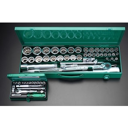 "(1/4"", 1/2"", 3/4"") Socket Wrench Set EA617BR-3"