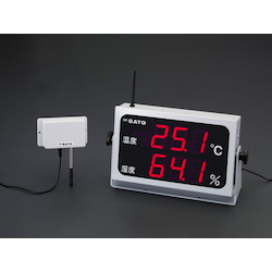 Large Digital Temperature and Humidity Meter EA728AD-50
