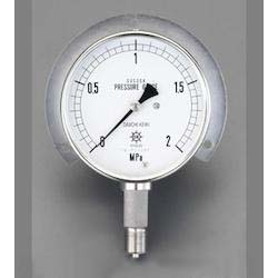 [All Stainless Steel] Pressure Gauge With Flange EA729DM-100