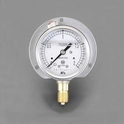 [Glycerin Filled] Pressure Gauge With Flange EA729GH-6