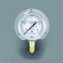 [Glycerin Filled] Pressure Gauge With Flange EA729GJ-50