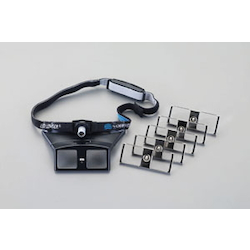 Head Loupe with LED Light EA756HS-1