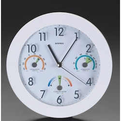 [With Thermo, Hygrometer] Wall Clock EA798CN-1