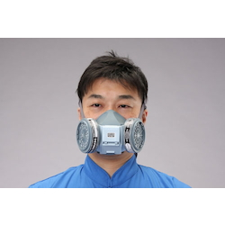 Cartridge-Replaceable Mask [2-Can Type] EA800MS-7A