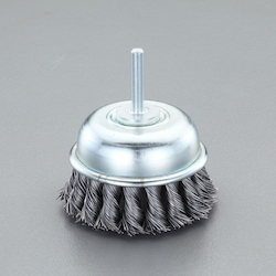 Cup Type Twist Wire Brush with Shaft (6mm Shaft) EA819BM-312