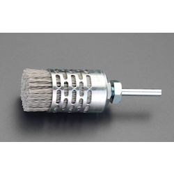[With Abrasive Grain] Nylon Brush with Shaft (6mm Shaft) EA819BY-17