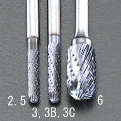 [TiAIN] Carbide Bar (3mm) EA819PG-2.5