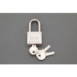 Long-Hanger Cylinder Padlock (Common Key) [Stainless Steel Hanger] EA983TK-132