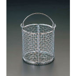 Round Type Parts Washing Basket [Stainless Steel] EA992CF-13