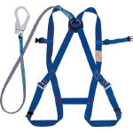 Full Harness Safety Belt (Comes with G Cut Lanyard/Non-Body-Belt Type)