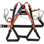 Full Harness Safety Belt (Twin Lanyard/Body-Belt Type)