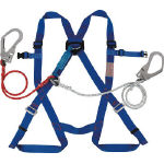 Full Harness Safety Belt (Twin Lanyard/Non-Body-Belt Type)