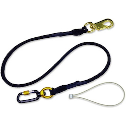 Fabric Safety Cord Carabiner with Lock