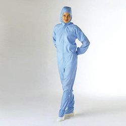 Garments for clean room, IV dress (w/ hood)
