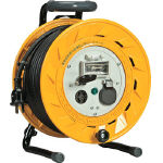 Cord Reel Three-phase 200 V with Breaker Electric Wire Length (m) 20–50