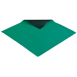 Conductive Color Mat, Green, Made of NBR, No Ground Wire Thickness 2 mm