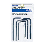 Hexagon Wrench Set W-91