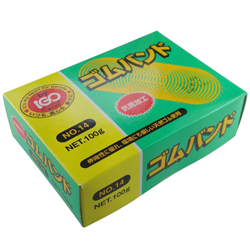 IGO Original Rubber Bands 100 g Paper Box