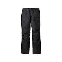 Stretch Flat-Front Cargo Pants