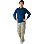 47654 Long Sleeve Polo Shirt with Sweat Wicking