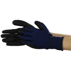 Natural Rubber Gloves with Unlined Back 3 Pairs