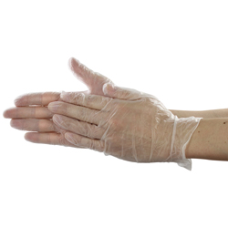 Extra-Thin Vinyl Gloves 100 pcs. (with Powder)