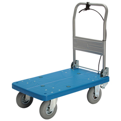 Hand Truck with Hand Stopper - Foldable Handle