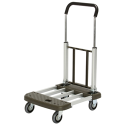 Aluminum Telescopic Folding Dolly, Quiet Aluminum Carrier