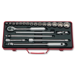 "Hand Socket 1/2"" ""(12.7 mm) Socket Set 4244M/4244A"