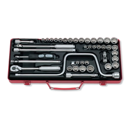 "Hand Socket 3/8"" ""(9.5 mm) Socket Set 3201AMW"