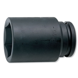 "Impact Socket 1-1/2 ""(38.1 mm) Hex Deep Socket 17300M/17300A"