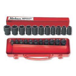 "Impact Socket 3/8 ""(9.5 mm) Hex Socket Set"