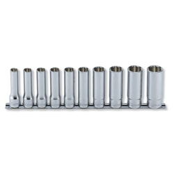 "Hand Socket 1/2"" ""(12.7 mm) Surface Deep Socket Rail Set RS4310M/10"