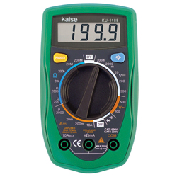Manual Range Digital Multimeter