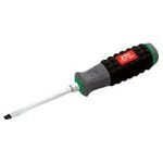 Resin Handle Screwdriver (with Throughput/Magnet)_with Bolster