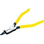 Flat retaining ring pliers (for shaft)