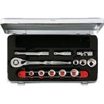 Socket wrench set (9.5 mm Insertion Angle / inch size)